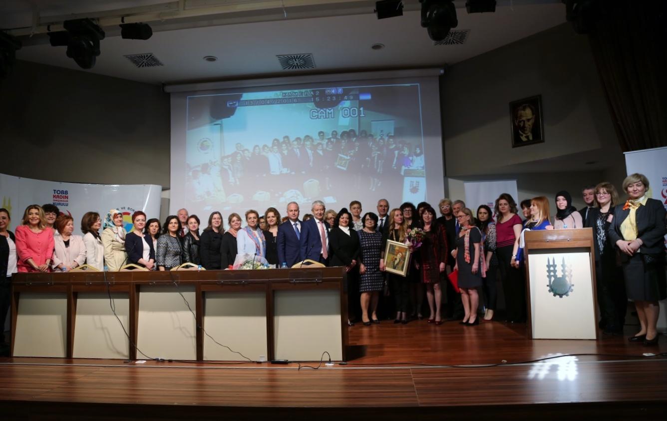 Türkiye'nin Girişimci Kadın Gücü Buluşmaları Edirne'de gerçekleştirildi