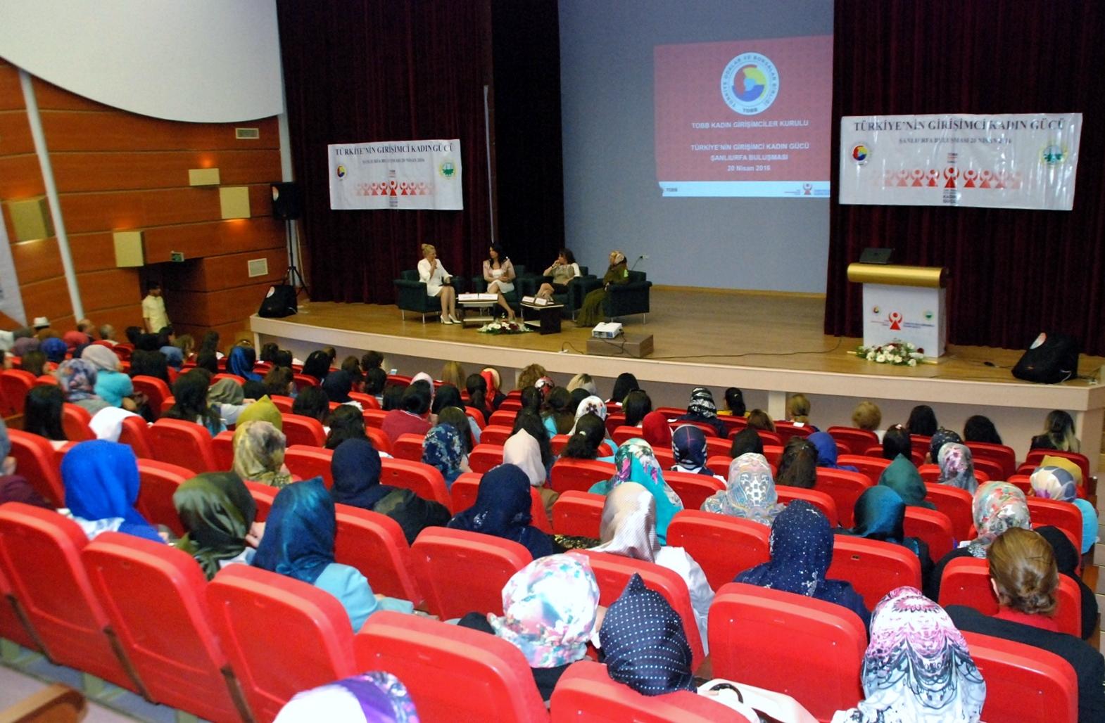 Türkiye'nin Girişimci Kadın Gücü Şanlıurfa Buluşması