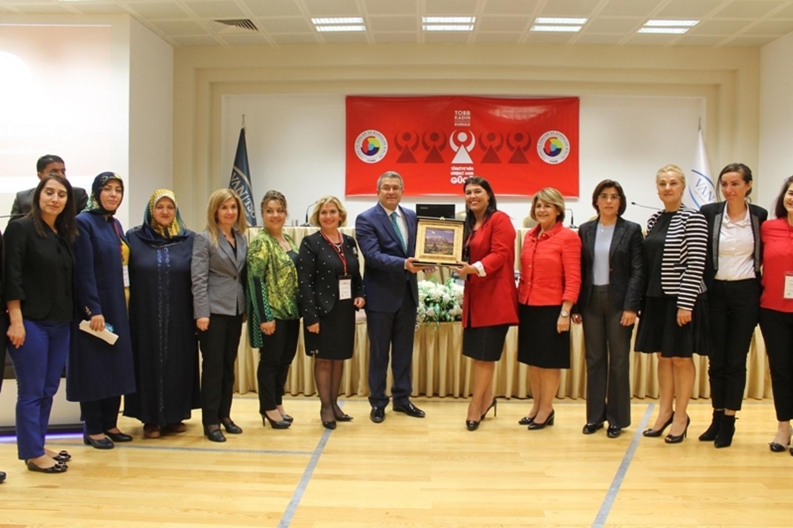 Türkiye'nin Girişimci Kadın Gücü Van Buluşması