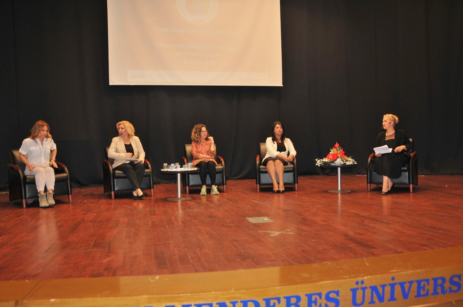 Türkiye'nin Girişimci Kadın Gücü Aydın'da