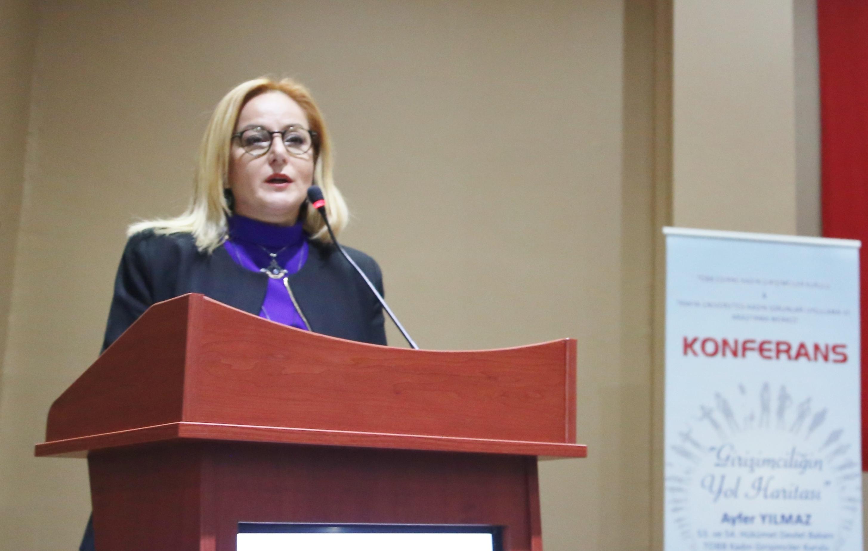 Girişimciliğin Yol Haritası konferansı Edirne'de yapıldı