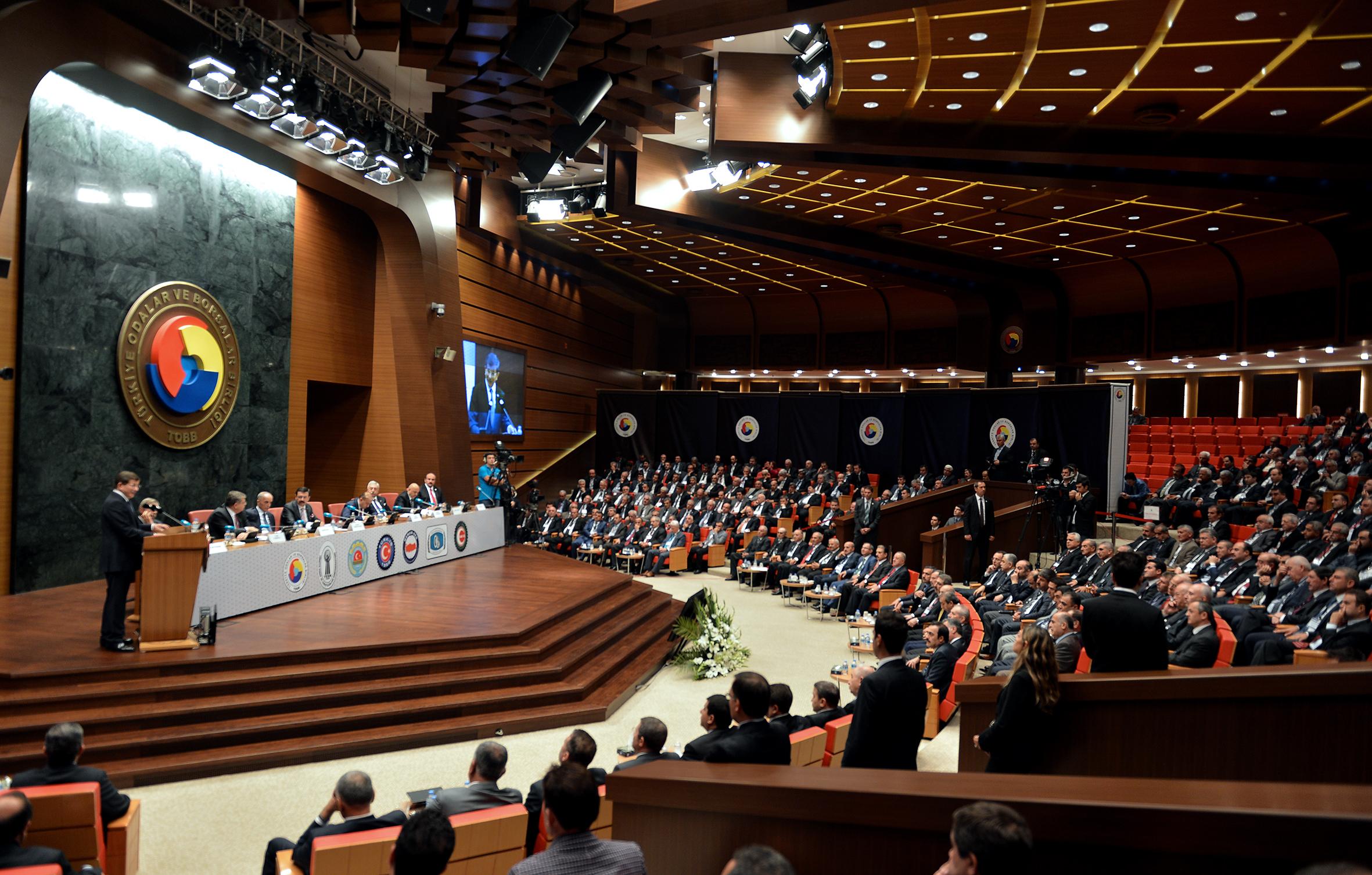 Başkan Ertekin TOBB İstişare Kurulu Toplantısına Katıldı
